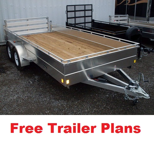 free trailer plans