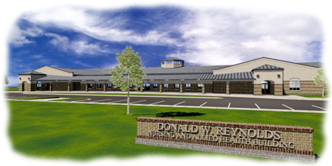 Health care facility 3D rendering