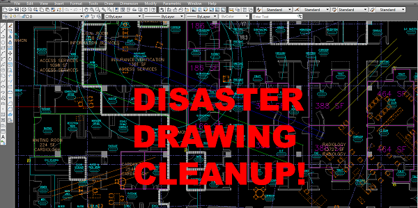 AutoCAD Drawing Cleanup