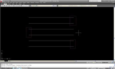 AutoCAD – Multiple Entity Stretch