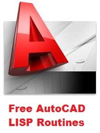 Free AutoCAD Lisp Routines