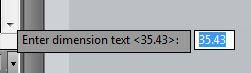 AutoCAD Dimension