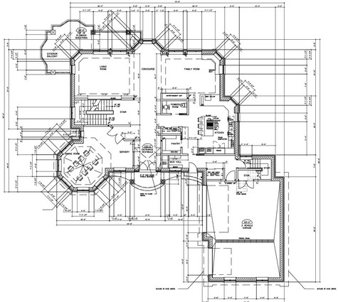 Drawing floor plans for Building plan drawing