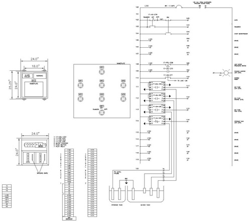 electrical cad drawing