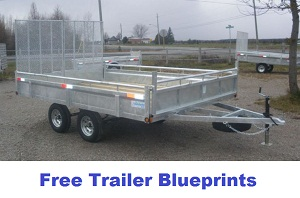 free trailer blueprints