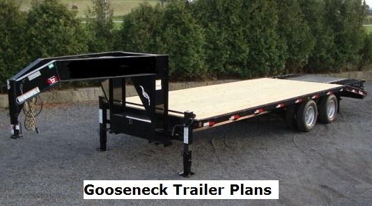Gooseneck Trailer Plans