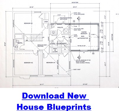 New Houses Blueprints