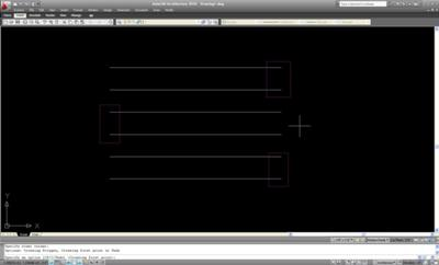AutoCAD – Multiple Entity Stretch