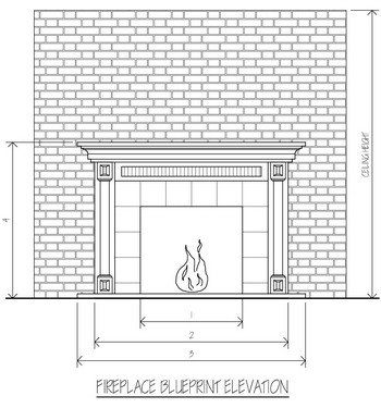 fireplace blueprints. Black Bedroom Furniture Sets. Home Design Ideas