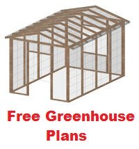 free greenhouse plans