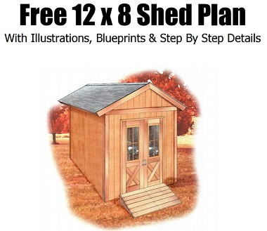 Easy to use shed plans.