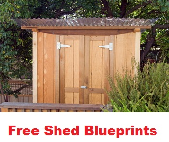 free shed blueprints
