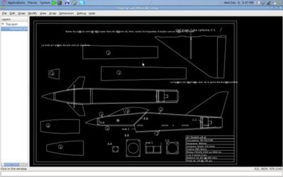An open source cross-platform CAD - Dxf Import into PythonCad